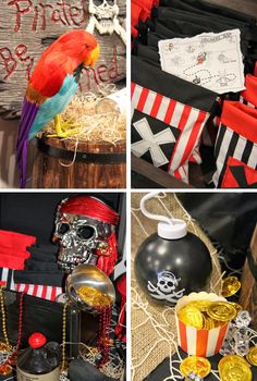 Captain Ethan's 5th Birthday Party        My Little babyEthanhas just turned 5 years old   and we celebrated in true Buccaneer style wi...