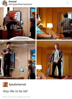 Proof that Peter Parker is meant to be Tony's adopted son. Can you imagine how heart-broken Stark would be if anything happened to that kid? Oh wait.