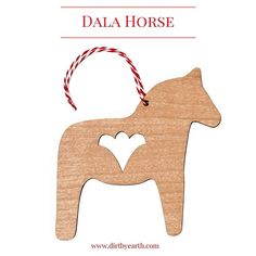 Dala Horse Scandinavian Christmas decoration in sustainable alder wood. Will be at the @scandinavianfestival the 13th of September. #brisbanefestival#christmasdecorations#scandistyle#dala horse#wooddecorations#nordicchristmas#visitbrisbane