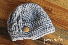 I seem to know a lot of people who are having babies or people who know people who are having babies (Did that make sense?). Anyway… I made four baby hats this past week. Two of them looked just like this and were made for a friend who had a couple baby showers coming up....Read More »