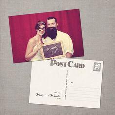 "Items similar to Vintage Wedding Thank You Postcard - the ""Molly"" on Etsy Wedding Thank You Postcards, Wedding Postcard, Postcard Art, Thank You Notes, Thank You Cards, Wedding Stationary, Wedding Guest Book, Invitations, Wedding Ideas"