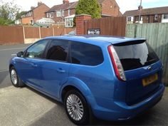 2010 Ford Focus estate in this afternoon for 5% Carbon privacy tints to the rear. Thanks Dave