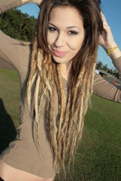 #dreads you can grow it out and still be cute!