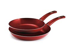 8 and 10 Style Nonstick Fry Pans, 2pk ** Additional details at the pin image, click it  : Skillets and Fry Pans