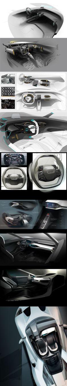Ford GT Interior ::