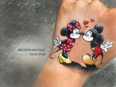 MICROPAINITNG by Silvia Vitali
