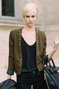 Vanessa Jackman: Paris Fashion Week SS 2013....Juliana