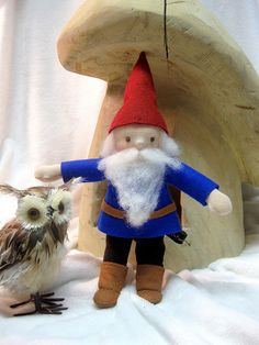 Gnome Doll with Owl