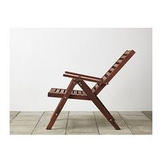 ÄPPLARÖ Reclining chair - brown - IKEA - Want 2 of these for the back with a small table #Anthropologie #PintoWin
