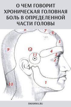 Was bedeutet chronischer Kopfschmerz in einem bestimmten Teil des Kopfes? Acupressure Therapy, Acupressure Treatment, Acupuncture, Health Diet, Health Care, Health Fitness, Back Pain, Karate, Healthy Eating