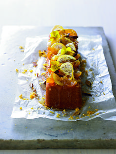 Flourless Moroccan Orange and Almond Cake by Jean Michel Raynaud. Gluten and Dairy Free. Could try to make Vegan with chickpea water meringue?