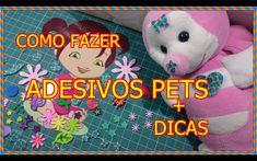 COMO FAZER ADESIVOS DE EVA PARA  PETS + DICAS