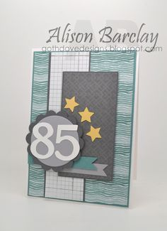 Gothdove Designs - Alison Barclay - Stampin' Up! Australia - Moonlight Designer Series Paper #masculine #card #birthday #MoonlightDSP #gothdovedesigns #stampinup #stampinupaustralia #mojomonday