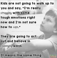 I think the way some ppl react to children that are struggling with this reflects a whole lotta white trash, trailer park, upbringing that they had! Gentle Parenting, Kids And Parenting, Practical Parenting, Autism Parenting, Mindful Parenting, Parenting Quotes, Education Quotes, Parenting Advice, Reactive Attachment Disorder