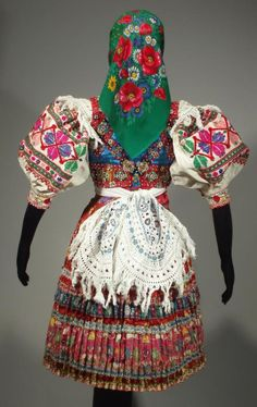 Folk Costume, Costumes, Folk Clothing, Ethnic Outfits, Traditional Outfits, Dressing, Embroidery, Fabric, Faces