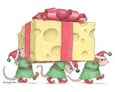 """""""Mudpie, Amanda and Muzzy"""" from House-Mouse Designs®"""