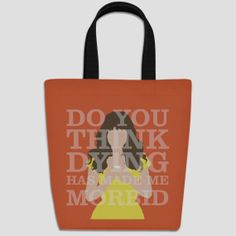 Pushing Daisies Chuck tote bag
