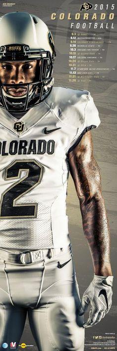 Colorado 2015 Football Poster 3