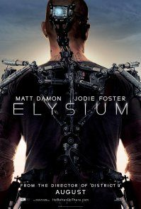 Elysium, Neill Blomkamp's new Science Fiction political thriller staring Matt Damon and Jodie Foster. Due out in theaters August Jodie Foster, Matt Damon, Great Movies, New Movies, Movies Online, Watch Movies, Latest Movies, The Fosters, Love Movie