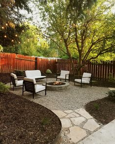 Small Backyard Landscaping Ideas with Rocks & Pool on a Budget Today's the day! We're spilling all the details, how-to and budget breakdown of how we completed this backyard makeover in just 48 hours… Backyard Patio Designs, Backyard Seating, Budget Backyard Ideas, Backyard Storage, Small Backyard Design, Backyard Retreat, Fire Pit Backyard, Back Yard Fire Pit, Stone Backyard