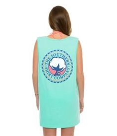 Southern Shirt Company Tribal Pocket Tank Top in Island Reef