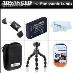 Click Here http://gadget-core.com/bestseller.php?p=B004BFC896 For Best Price and Cheap Advanced Accessory Kit For Panasonic Lumix DMC-ZS7 DMC-ZS10, DMC-ZS8 Digital Camera Includes Gripster Flexible Tripod + USB 2.0 Card Reader + Extended Replacement Panasonic DMW-BCG10 (1200 mAH) Lithium-Ion Battery + Hard Case + Mor (Electronics) Best Seller and Best Buy click image to review :D
