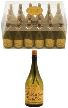 72 bottiglia di Champagne Neviti-Bolle di sapone per matrimonio Decorazione natalizia da tavola per feste, coriandoli