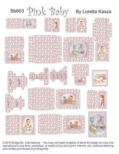 Baby Boxes Pink -