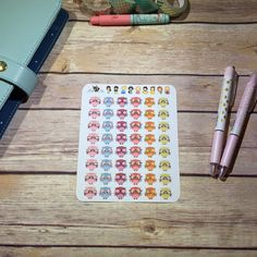 Nerdy Owl Planner Stickers  Any Planner  EC  Erin by BellaPlans