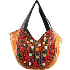 297139f9e9f17 Handmade Embroidered Banjara Hobo Bag (India)
