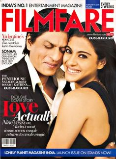 Shah Rukh Khan & Kajol for Film Fare Valentine's Special February 2010 Issue.