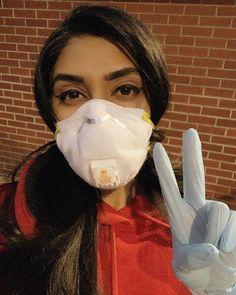 Gas Mask Girl, Respirator Mask, Rain Wear, Jennifer Aniston, Kim Kardashian, Mascara, Masks, Gloves, Projects