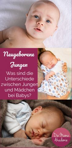 Newborn Boys - What are the differences between boys and girls - Baby - Unsere Kinder und Mehr Boy Or Girl, Baby Boy, Pregnancy Books, Pregnancy Information, Baby Massage, Baby Arrival, Pregnant Mom, Parenting Teens, Baby Needs