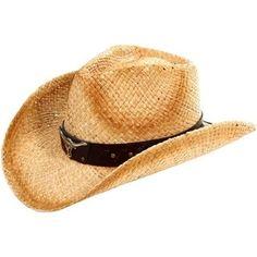 be150a5a809b9 Unisex Western Cowboy   Cowgirl Straw Banded Hat - Beige