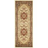 Found it at Wayfair - Lyndhurst Ivory/Red Area Rug