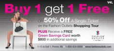 Fashion Outlets of Las Vegas Shopping Mall Coupon