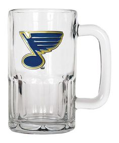 Take a look at this St. Louis Blues 20-Oz. Glass Mug by Great American Products on #zulily today!