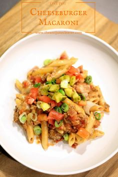 One Pot Cheeseburger Macaroni Casserole Recipe. A cheeseburger in a bowl that the whole family will love.