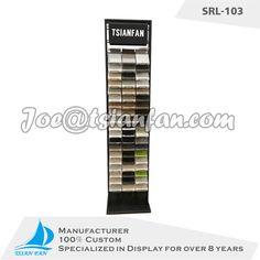 high quality stone display stand exhibiton rack