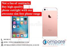 Not a fan of contracts. Buy high-quality phone outright with our awesome sim free phone range. Compare Phones, Free Phones, London United Kingdom, Sims, Projects To Try, Range, Iphone, Awesome, Places