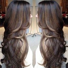 Oh i love the highlights i so want this for my fall look