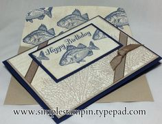 By The Tide ~ Stampin' Up!