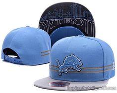 abfc6ee655c NFL Detroit Lions Snapbacks Caps Retro Flat Hat A Stripe cheap for sale