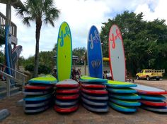 How to save money on your Sanibel Vacation. Stand-up paddle board rentals, Finnimore's Beach and Bike Rental Sanibel Island, Florida. Must Do Visitor Guides, MustDo.com