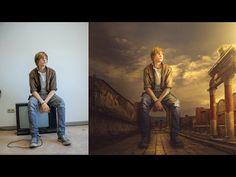 Photoshop CC Manipulation Photo Effects Tutorial | Change Background and blending - YouTube