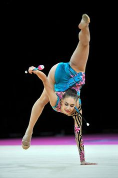 September 21, 2011; Montpellier, France; ALEXANDRA PISCUPESCU of Romania performs with clubs
