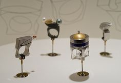 If It's Hip, It's Here: Rings That Rock and Roll. Kinetic Jewelry By Michael Berger.