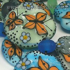 I adore butterflies and beads -- so put them together and :-)