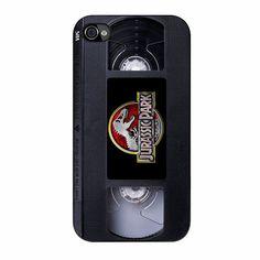 Jurassic Park Videos Casette iPhone 4/4s Case