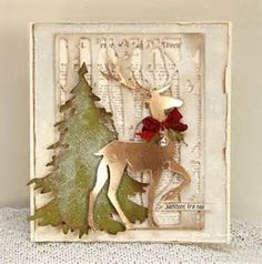 tim holtz christmas cards 2015 - Bing images